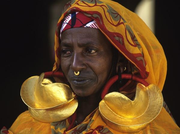 how to make fulani earrings