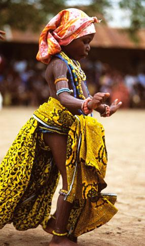 Dancing Krobo Girl by Carol Beckwith and Angela Fisher