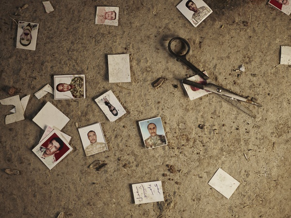 ID Cards of Massacred Soldiers by Joey L.