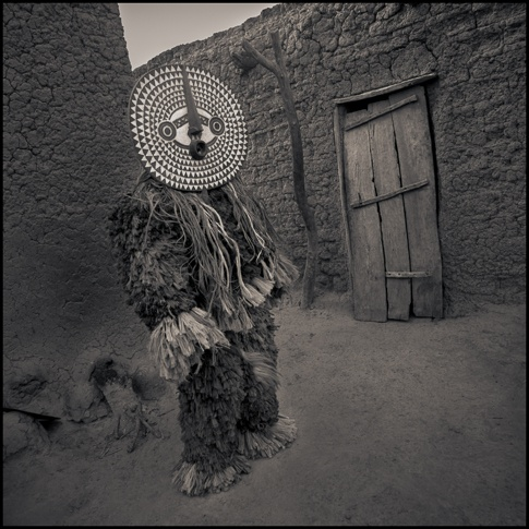 Boni Mask, Bwa region, Burkina-Faso by Chris Rainier