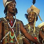 Two Wodaabe Charm Dancers