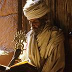 Amhara Priest Reading Kidan