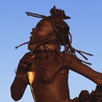 Spinning Himba Dancer
