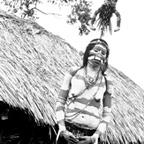 Wahgi Valley woman with kund gale