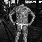 Traditional Yakuza tattoos back
