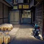 Bread delivery, Tehran