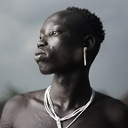 Portrait of Mursi Man