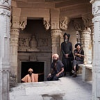 Aghoris at Shiva Temple