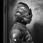 "Celso Castro as Captain America,"" II"