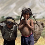 Boys with Harvest Baskets, Ghemi