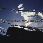 Prayer Flags on a High Pass