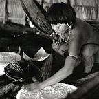 Woman preparing Bread, Brazil, 1995